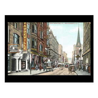Old Postcard - Westminster St, Providence RI