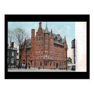 Old Postcard - YMCA, Providence RI