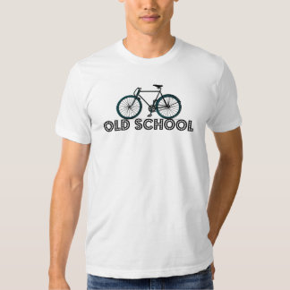 old school antique fixed gear bicycle t-shirt