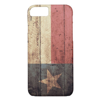 Old Wood Texas Flag iPhone 7 case