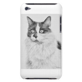 Oliva the Cat Drawing Barely There iPod Covers