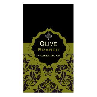 Olive Juice Pack Of Standard Business Cards