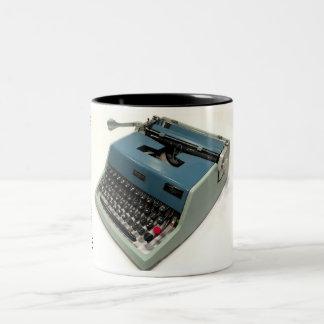 Olivetti-Underwood 21 typewriter Two-Tone Mug