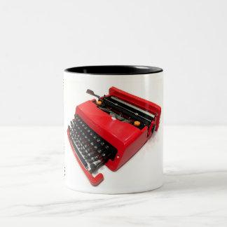 Olivetti Valentine typewriter Two-Tone Mug