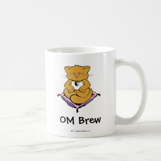 OM Brew Basic White Mug