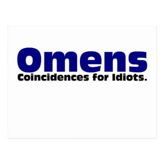 Omens Postcard