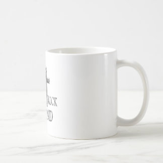 On Christ the Solid Rock I STAND Basic White Mug