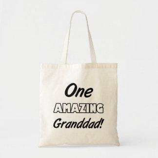 One Amazing Grandad Budget Tote Bag
