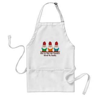 One By One The Gnomes Standard Apron