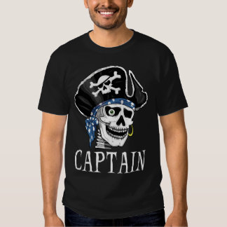 One-eyed Pirate Captain Shirts
