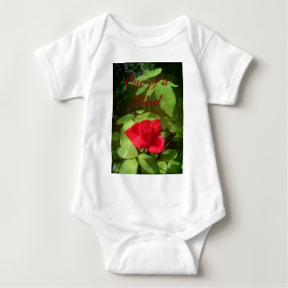 One of a Kind Red Rose Tee Shirts