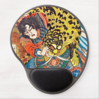One of the 108 Heroes of the Popular Water Margin Gel Mouse Pad