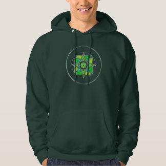 """One With Earth"" Stained Glass Mandala Hoodies"