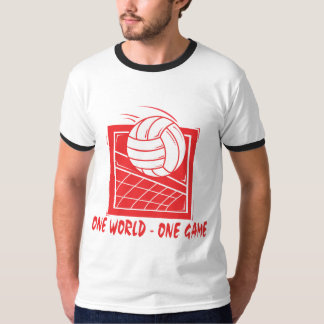 One World One Game Volleyball T-Shirt