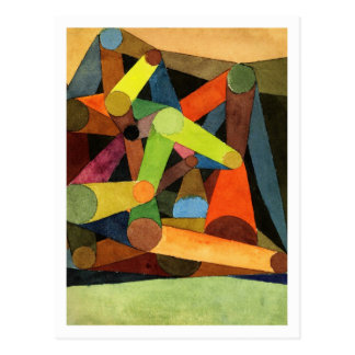 Opened Mountain By Paul Klee Postcard