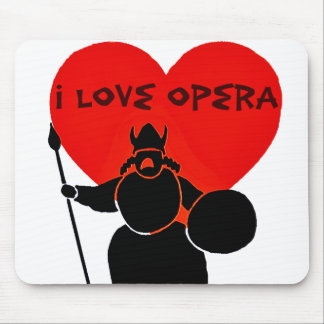 Opera Lover_ Mouse Pad