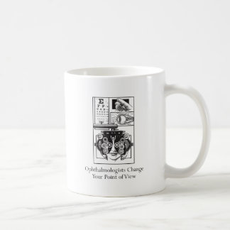 Ophthalmologists Change Your Point of View Basic White Mug