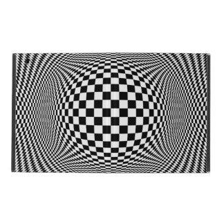 Optical Illusion Checkers iPad 2/3/4 Case iPad Covers