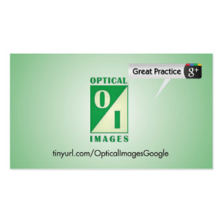 Optical Image Pack Of Standard Business Cards