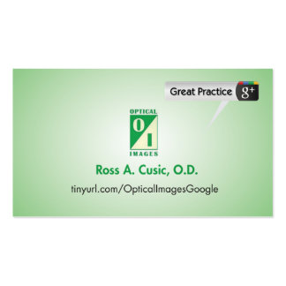 Optical Images Pack Of Standard Business Cards