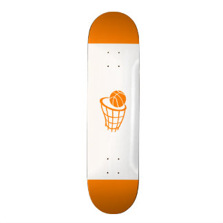 Orange Basketball Skateboard Decks