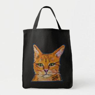 Orange Cat Tote bag