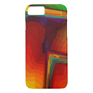 Orange green case for iPhone 7