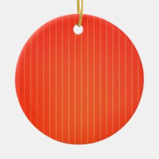 Orange LED lamp Round Ceramic Decoration