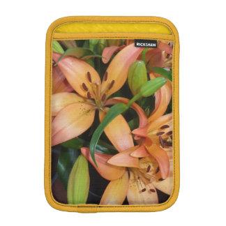 Orange Lilies iPad Mini Sleeve