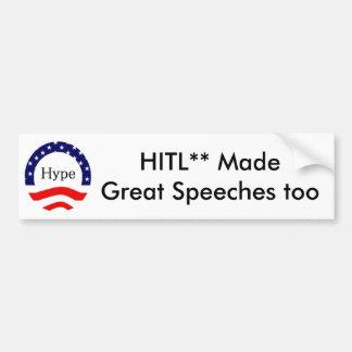 Orators, customizable. bumper sticker
