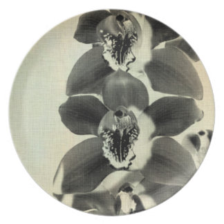 Orchid Blush Panels IV Dinner Plate