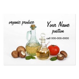 organic produce store market business card