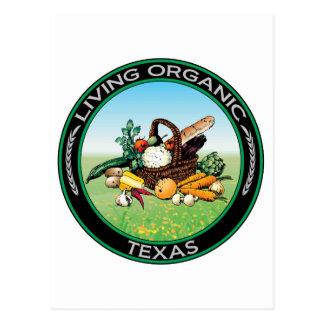 Organic Texas Postcard