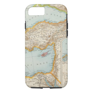 Oriental Mediterranean Map iPhone 7 Case