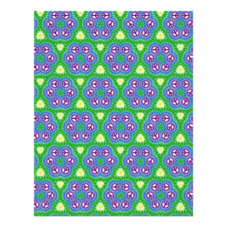 Origami Paper Green Blue Customizable Hobby Art 21.5 Cm X 28 Cm Flyer