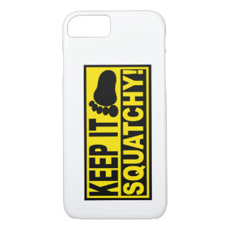 Original & Best-Selling Bobo's KEEP IT SQUATCHY! iPhone 7 Case