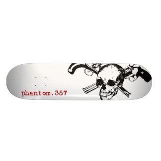 Original Phantom.357 Skull Logo Deck Custom Skate Board