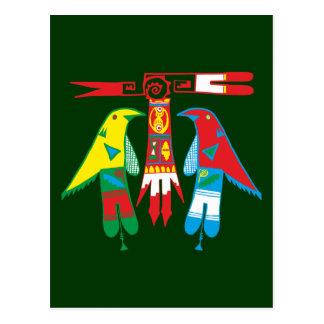 Ornamentation Indian native American Postcard