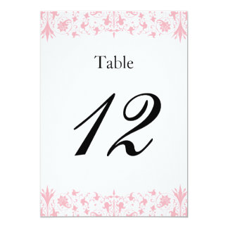 Orthodox Elegant Baptism Table Numbers Double Side 13 Cm X 18 Cm Invitation Card