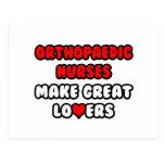 Orthopaedic Nurses Make Great Lovers Postcard