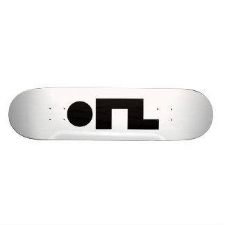 ORZ Emoticon Kaomoji Emoji Skate Board