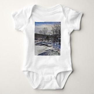 Otter Brook Winter Scene T-shirts