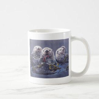 Otter Trio Basic White Mug