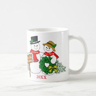 Our 35th Christmas Basic White Mug