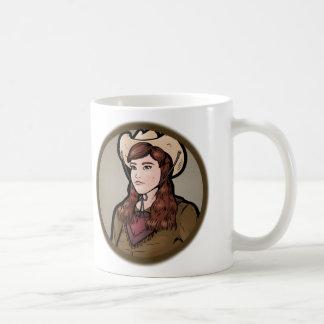 Outlaw -- Female Basic White Mug