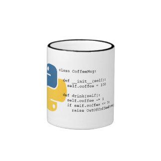 OutOfCoffeeException Python Mug