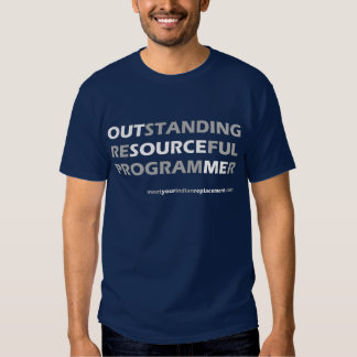 Outstanding Resourceful Programmer Tees