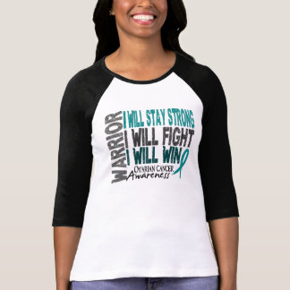 Ovarian Cancer Warrior Tee Shirts