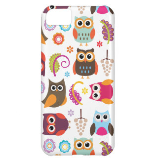 Owl Meeting Barely There iPhone 5 Case