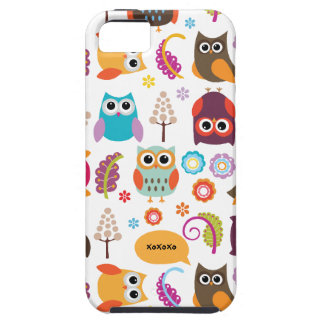 Owl Meeting Vibe iPhone 5 Case